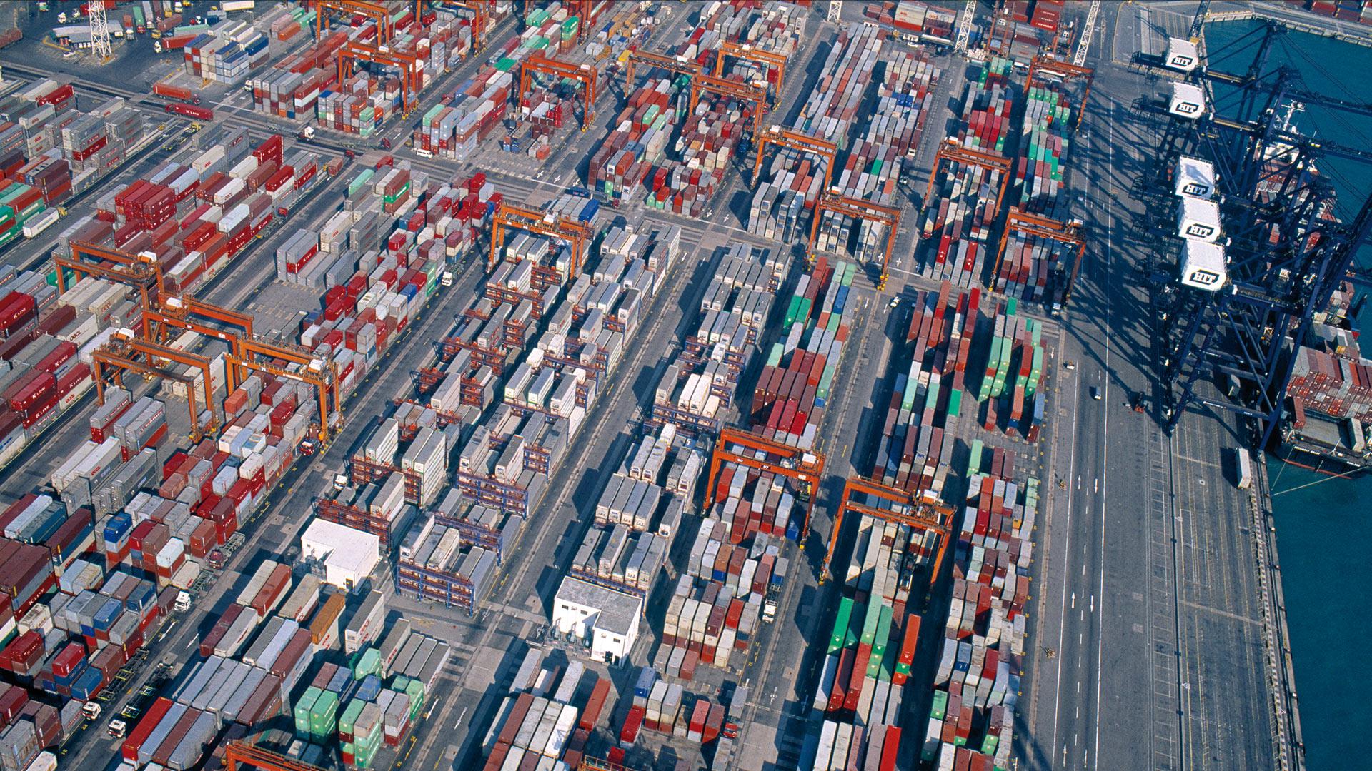 Exportación e importación en el mayor mercado mundial